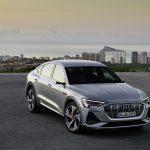 Audi e-tron Sportback frontal
