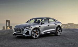 Audi e-tron Sportback perfil delantero