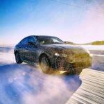 BMW i4 2021 0 winter test