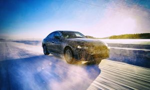 BMW i4 2021 0 winter test