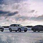 BMW iNEXT - BMW i4 - BMW iX3 winter test