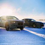 BMW iNEXT - BMW i4 winter test