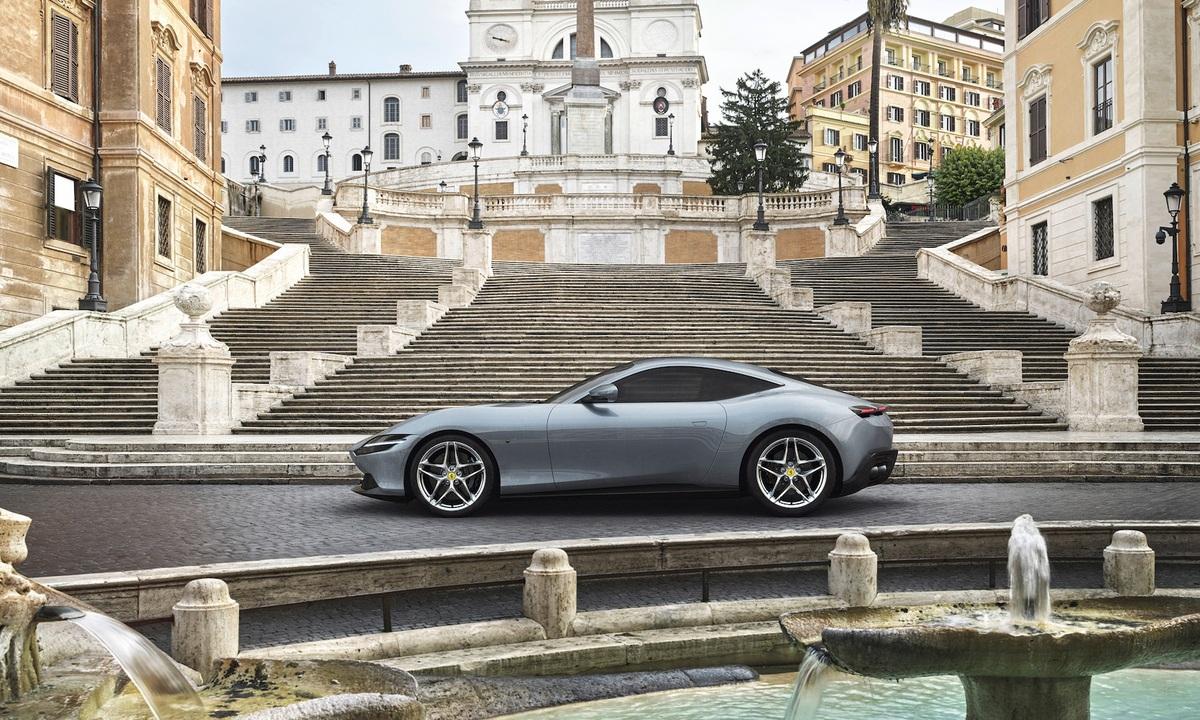Ferrari Roma 2020 side