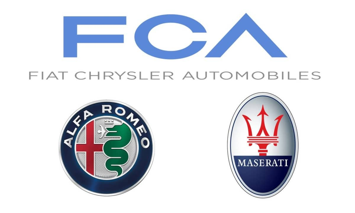Grupo FCA - Alfa Romeo - Maserati Logo