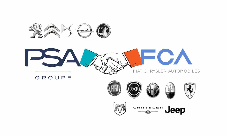 Grupo FCA - Grupo PSA acuerdo de fusión