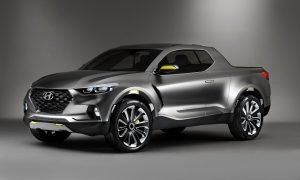 Hyundai Santa Cruz Concept to Be Built at Montgomery Alabama Plant front