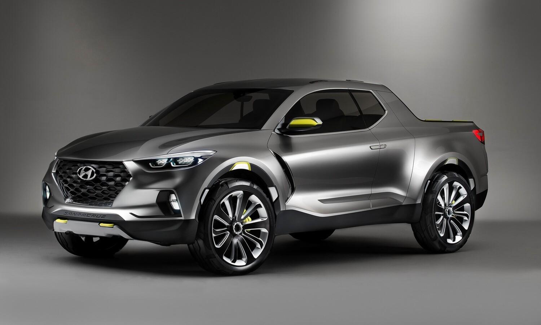 Hyundai Santa Cruz Concept to Be Built at Montgomery Alabama Plant front
