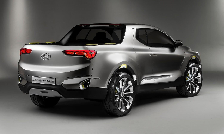 Hyundai Santa Cruz Concept to Be Built at Montgomery Alabama Plant rear
