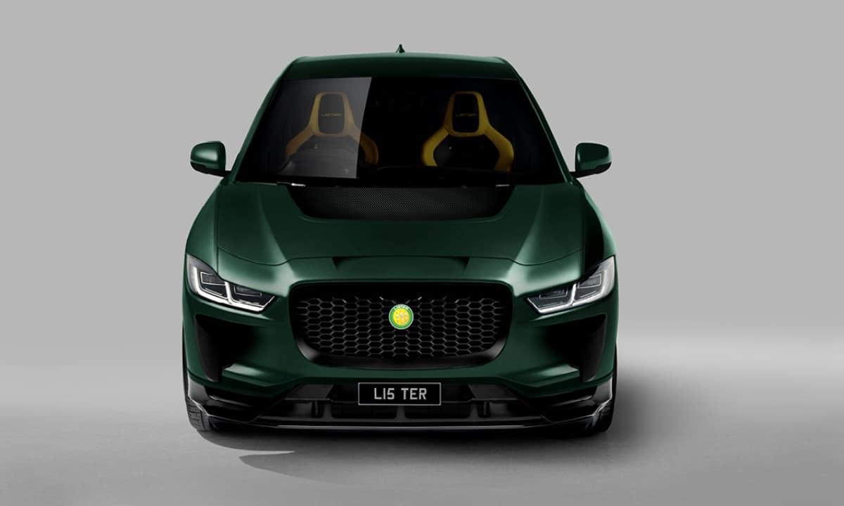 Jaguar I-Pace Concept by Lister front
