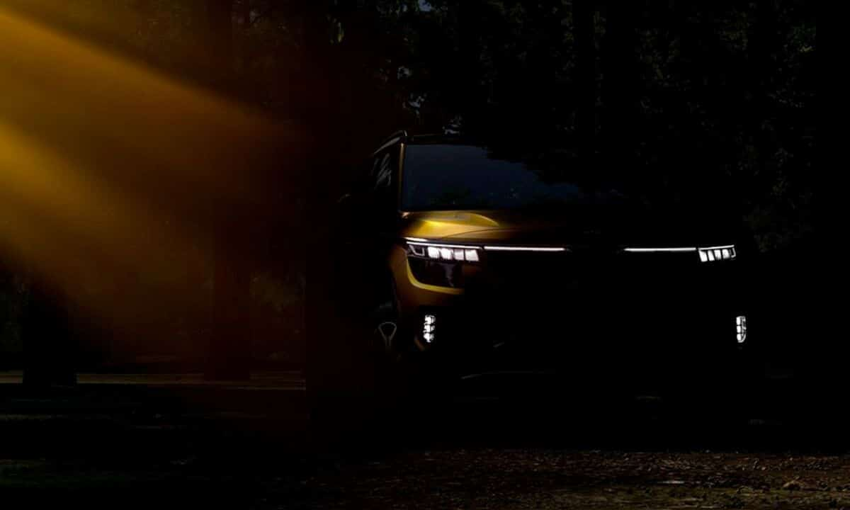 Kia Seltos Los Angeles Auto Show teaser
