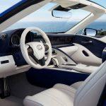 Lexus LC 500 Cabrio interior