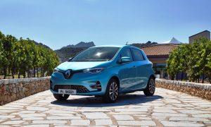 Renault ZOE 2019 front