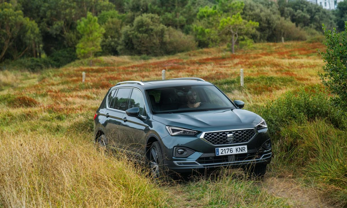 Seat Tarraco 2019 front