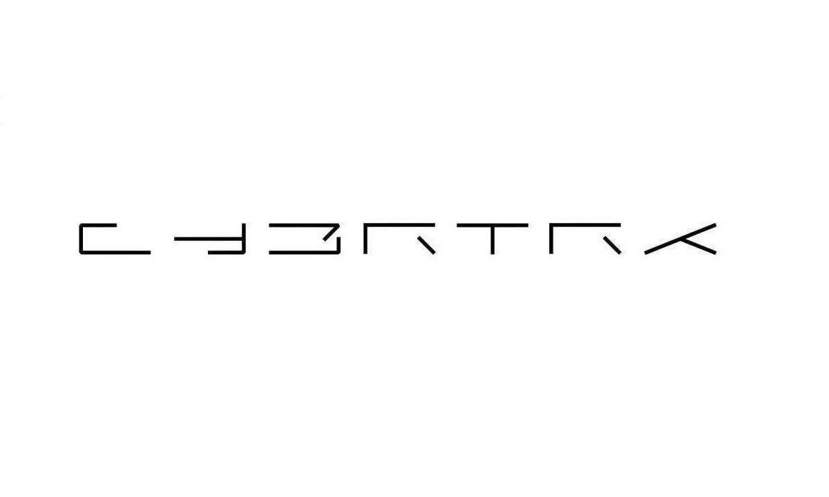 Tesla CYBRTRK logo