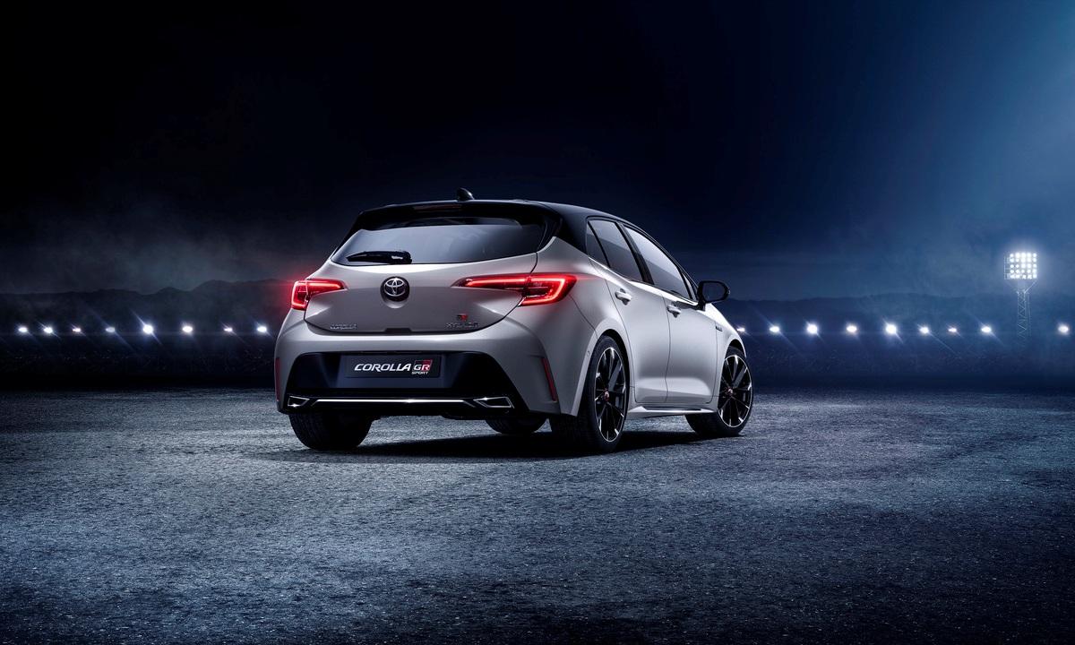 Toyota Corolla GR-SPORT 2019 rear