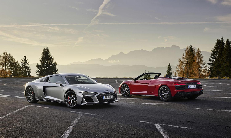 Audi R8 RWS Coupé y Spyder