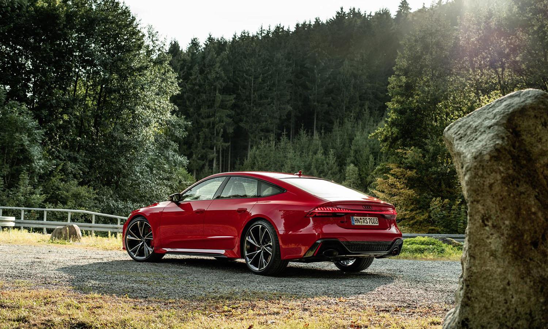 Audi RS 7 Sportback perfil trasero