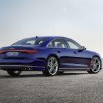 Audi S8 perfil trasero