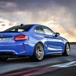 BMW M2 CS dinámica trasera