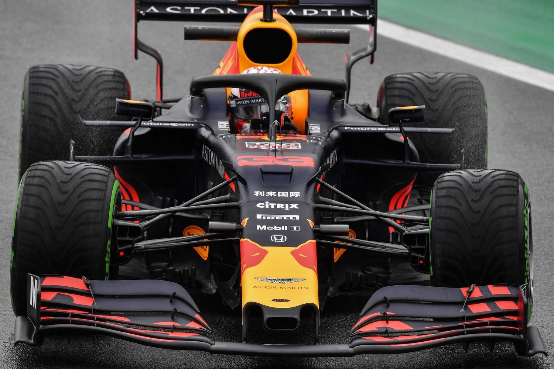Red Bull en el GP de Brasil F1 2019