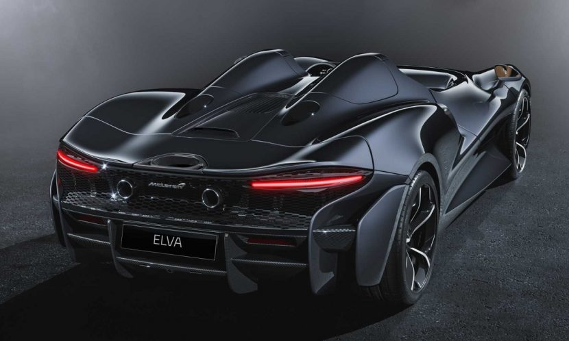 Difusor trasero del McLaren Elva