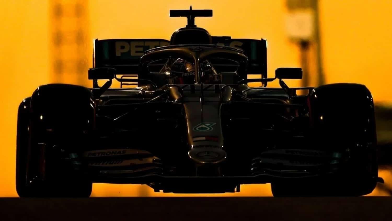 Mercedes en el GP de Abu Dhabi F1 2019
