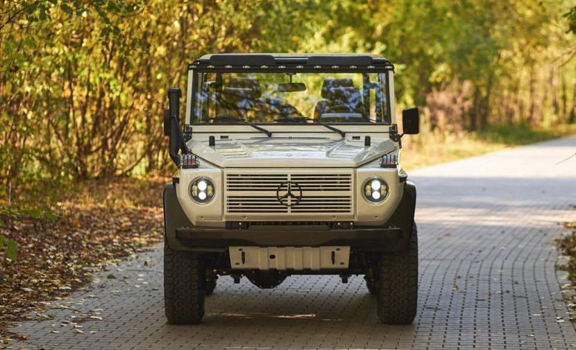 Frontal del Mercedes Clase G Wolf de EMC