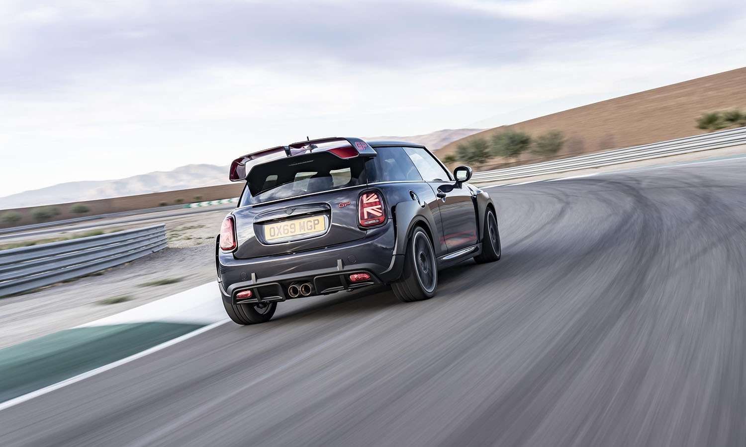 MINI Cooper John Cooper Works GP trasera