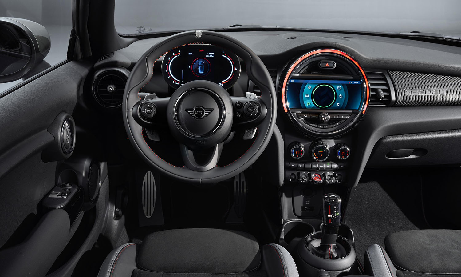 MINI Cooper John Cooper Works GP interior