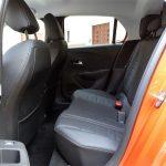 Plazas traseras del Opel Corsa