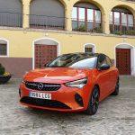 Opel Corsa frontal