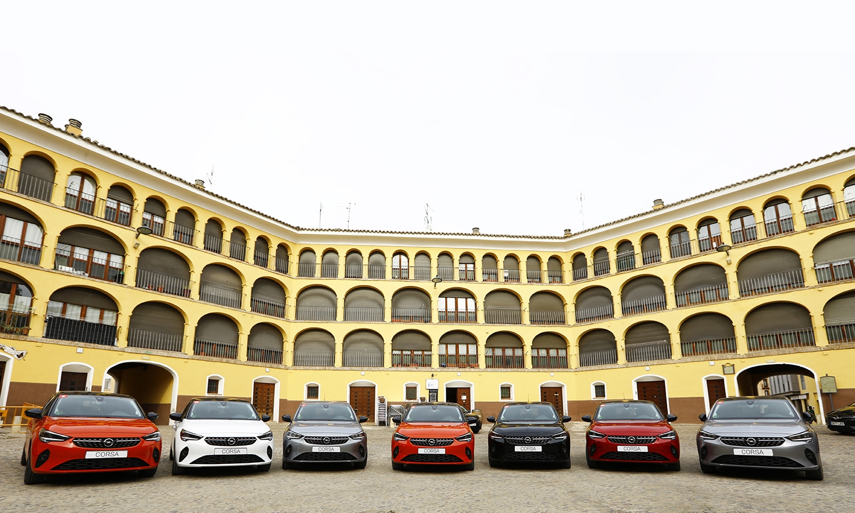 Opel Corsa varios colores
