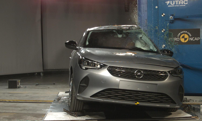 Opel Corsa 4 estrellas EuroNCAP