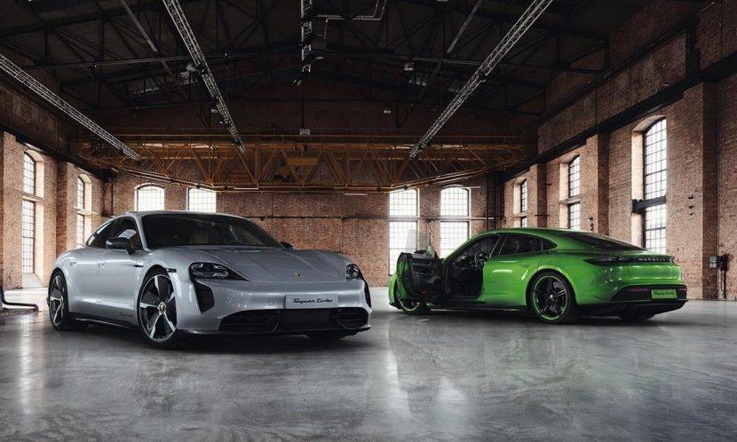 Taycan modificado por Porsche Exclusive