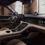 Interior del Taycan modificado por Porsche Exclusive