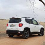 Perfil trasero del Jeep Renegade Limited