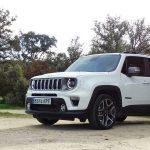 Prueba Jeep Renegade perfil delantero