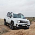 Prueba Jeep Renegade offroad delantera