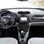 Prueba Jeep Renegade diseño interior