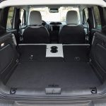 Volumen maletero Jeep Renegade con asientos abatidos