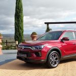 SsangYong Korando Cherry Red
