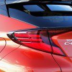 Prueba Toyota C-HR diseño parte trasera