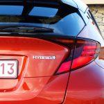 Prueba Toyota C-HR detalle trasero