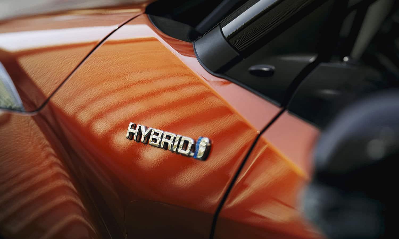 Prueba Toyota C-HR inscripción hybrid