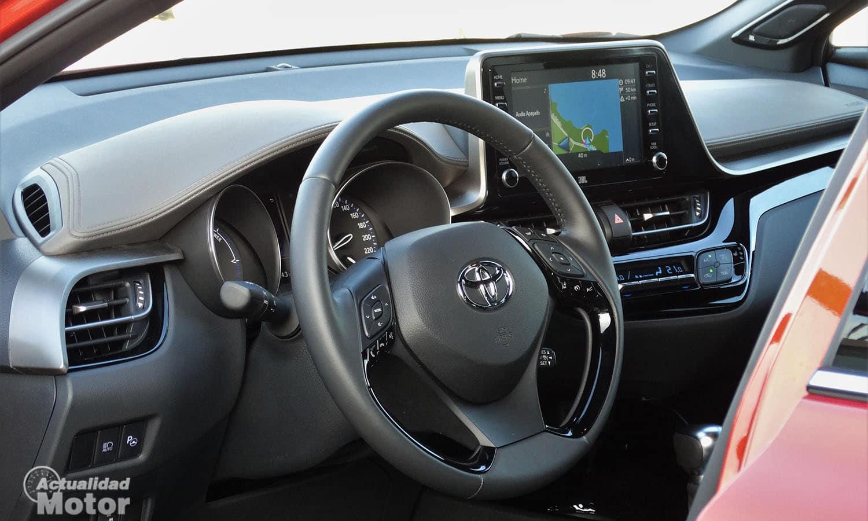 Prueba Toyota C-HR interior