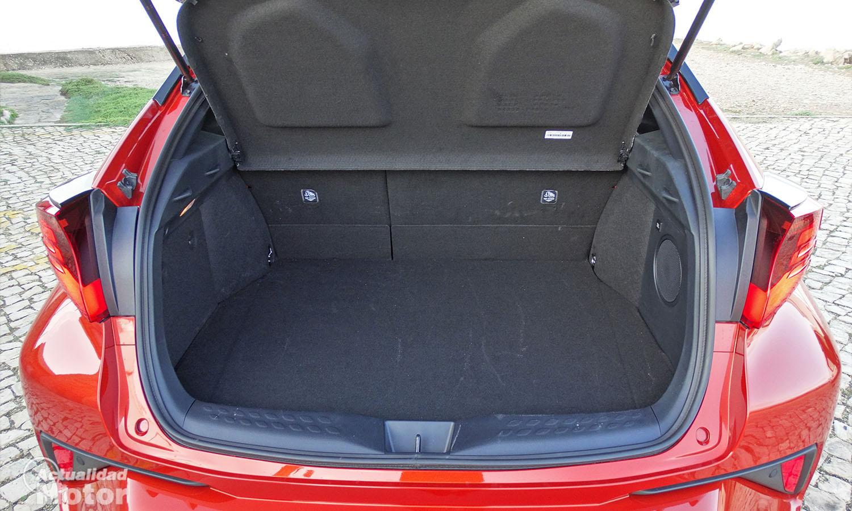 Toyota C-HR maletero