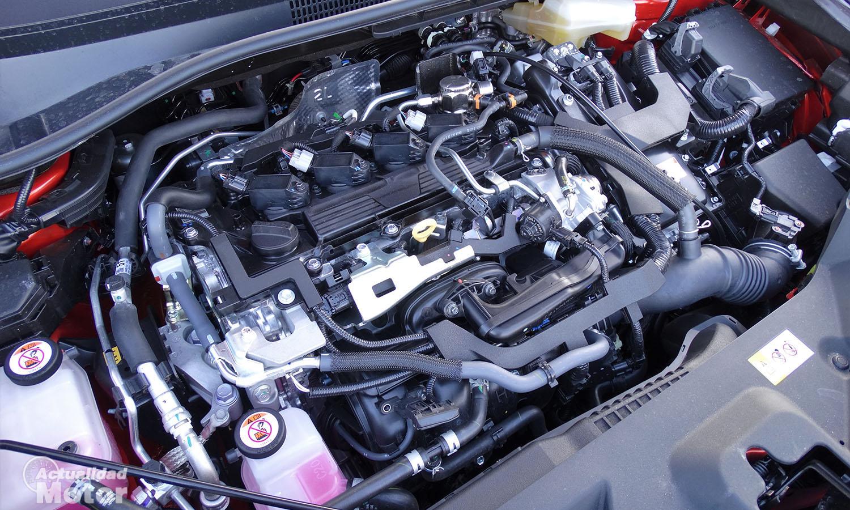 Prueba Toyota C-HR 2.0 hybrid 184 CV motor