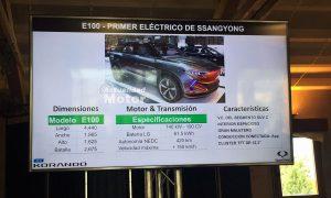 SsangYong E100 primer eléctrico confirmado