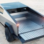 Espacio de carga de la pick-up de Tesla Cybertruck