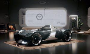 Toyota eléctrico e-Racer